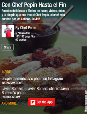 Chef Pepin Flipboard